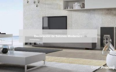 15 Ideas de Decoración de Salones Modernos