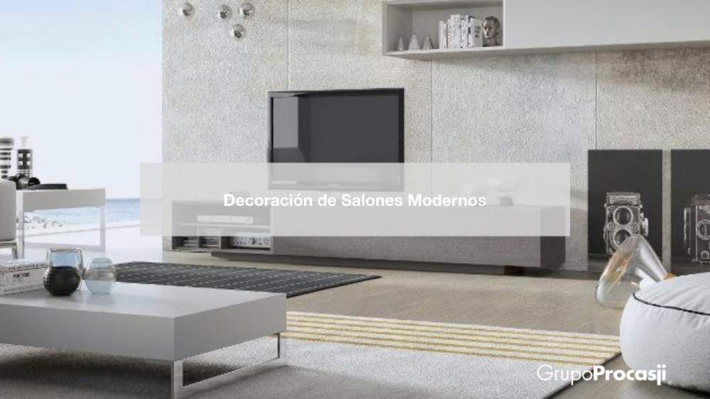 Decoraci n de salones modernos 15 ideas grupoprocasji - Ideas de salones modernos ...