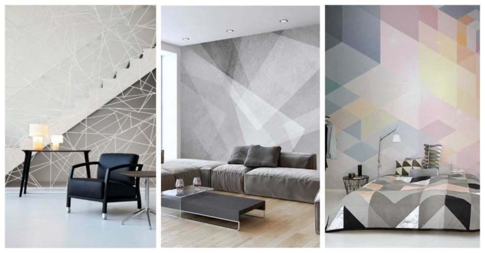 figuras geometricas para decorar paredes