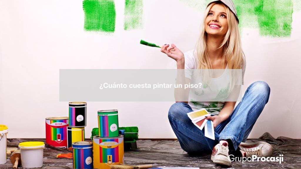 Cu nto cuesta pintar un piso precios 2018 grupoprocasji - Cuanto cuesta amueblar un piso ...